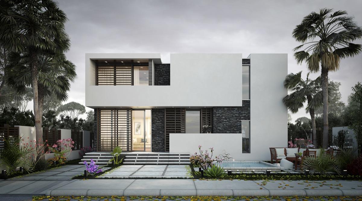 各种建筑体量的独栋别墅设计,你最喜欢哪个? 建筑 体量 设计 新浪网