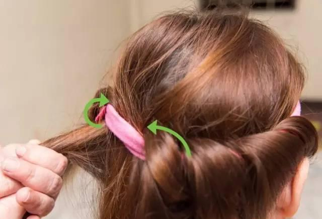 不花钱不烫发,直发轻松变卷发~|发带|头发|烫发_新浪网图片