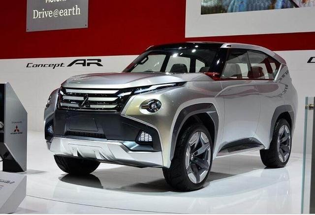 三菱此次打造的这款概念车,在颜值可以说是非常高了