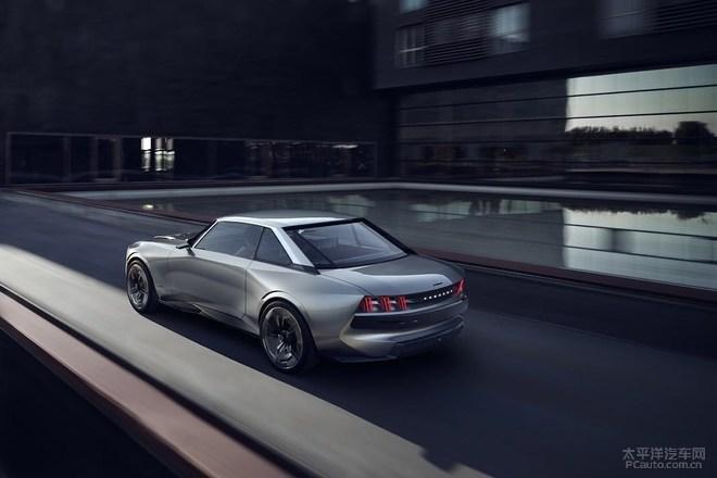 2018巴黎车展探馆:标致e-Legend概念车亮相