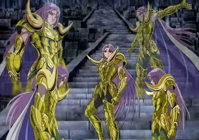 圣斗士:穆与撒加,沙加一样,他们的实力难分伯仲!
