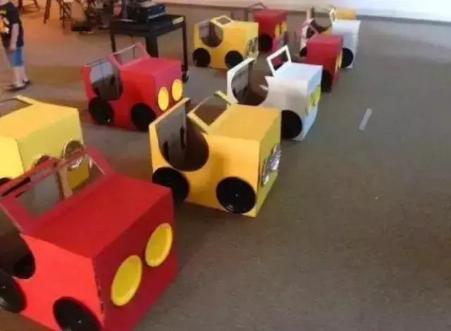 纸箱制作小车步骤