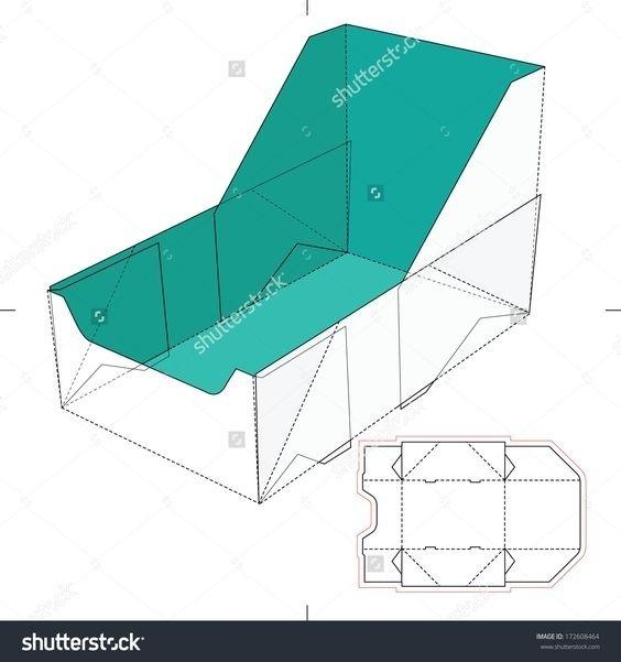 不同的盒型包装设计展开图,转需留存~_新浪看点