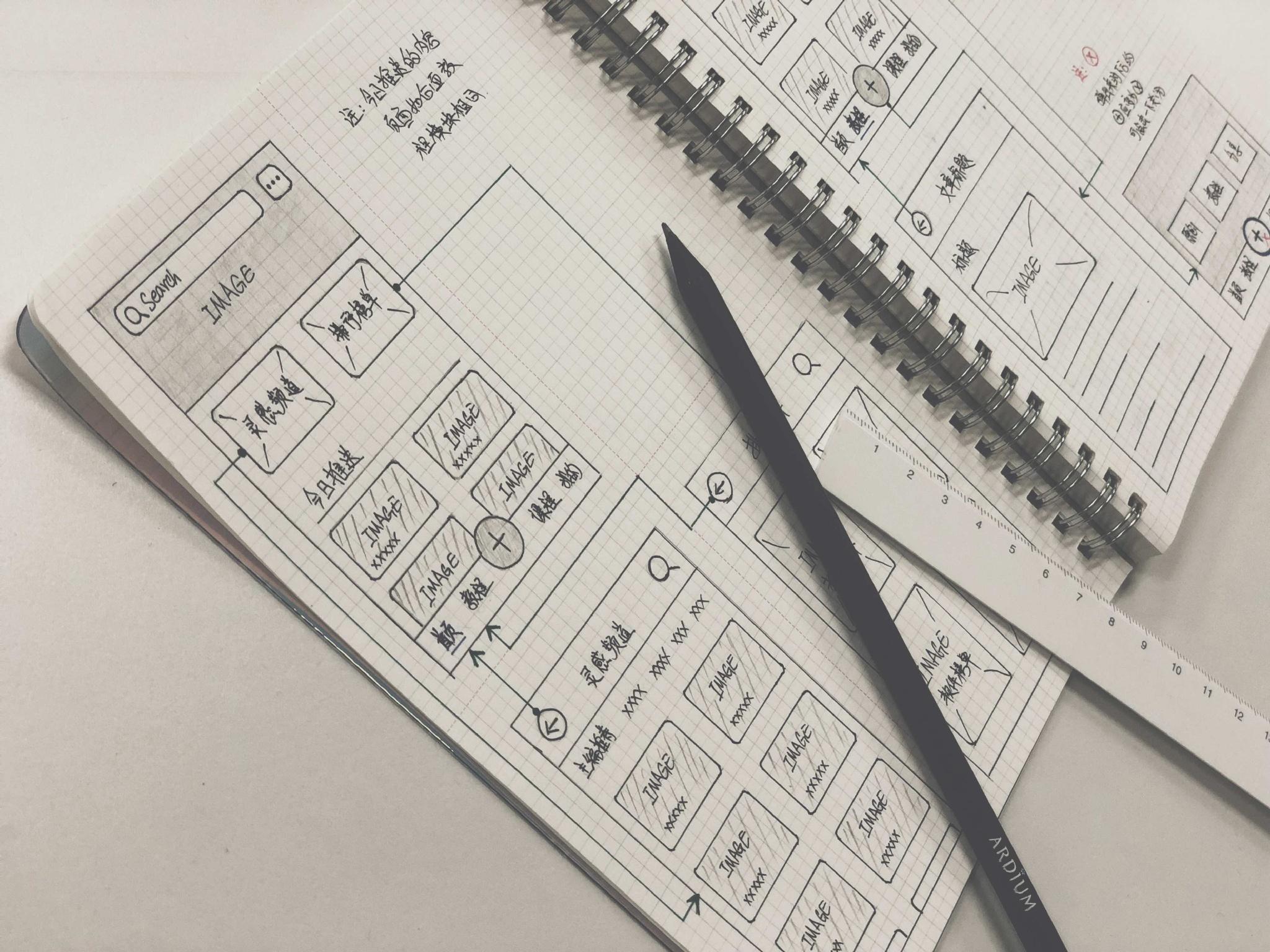 在纸上的思考——交互班的手绘原型.指导老师