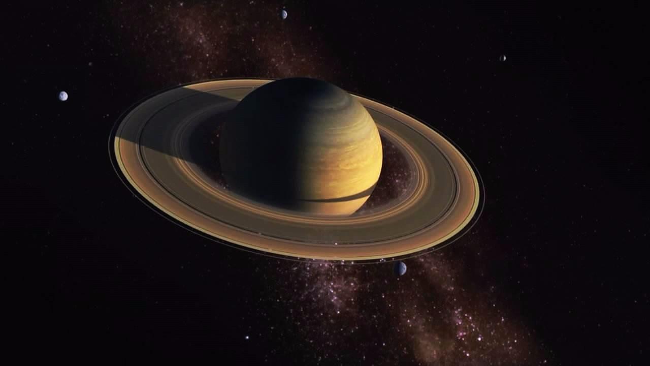 出现在土星附近的ufo与土星环的形成有何关系?