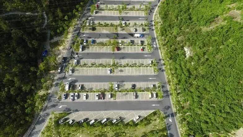 旅游景区生态停车场的设计研究图片