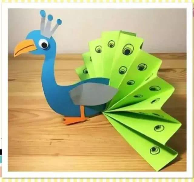 童手工卡纸贴画_手工福利,简单实用的制作创意卡纸动物方法!保证让萌童大爱!