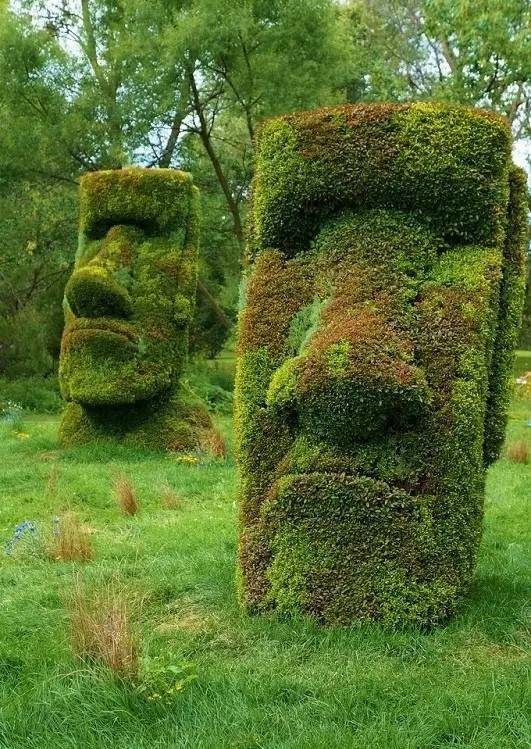 趣图 | 园林造型师也是一个可怕的物种