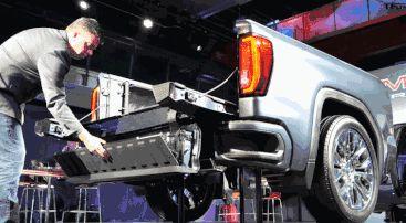 GMC新皮卡尺寸更大,标配310马力2.7T发动机,明年上3.0T柴油版