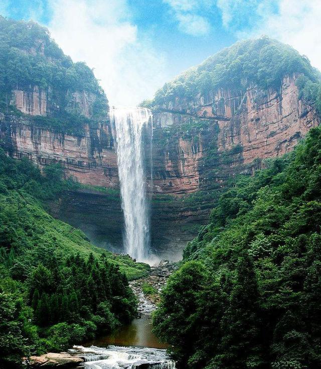 重庆八大最具特色的景点,重庆特色自然风景名胜古区