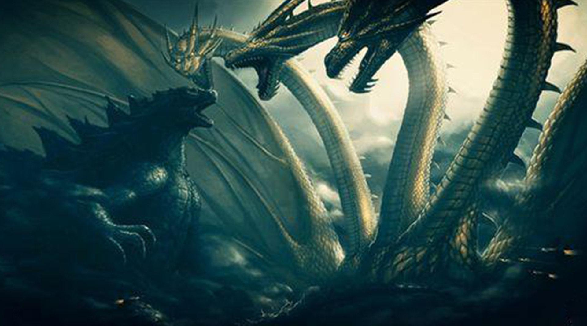 最新怪兽电影《哥斯拉2:怪兽之王》哥斯拉将挑战三头龙基多拉!