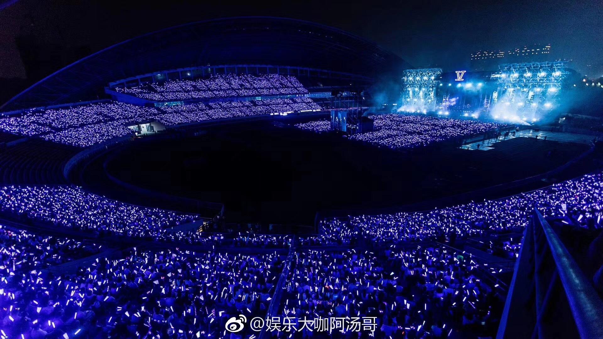 张杰鸟巢演唱会 今晚七点,北京鸟巢
