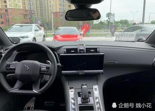 """法系豪华SUV""""DS7""""到店实拍,内饰惊艳程度完暴""""奥迪""""!"""
