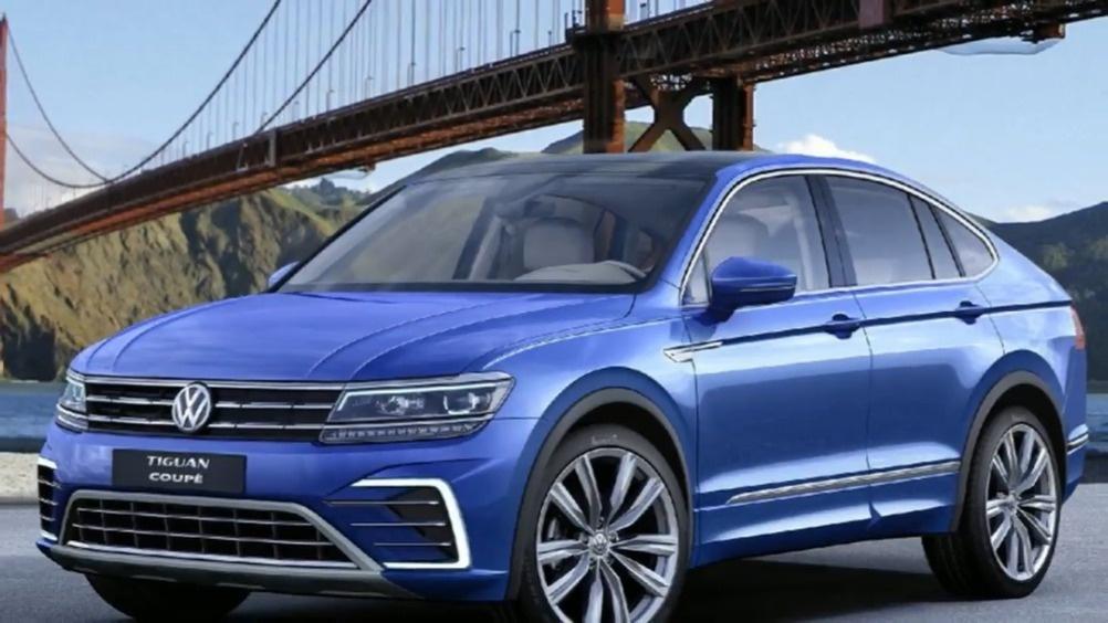 开辟新的细分市场 大众途观L轿跑SUV假想图  ?