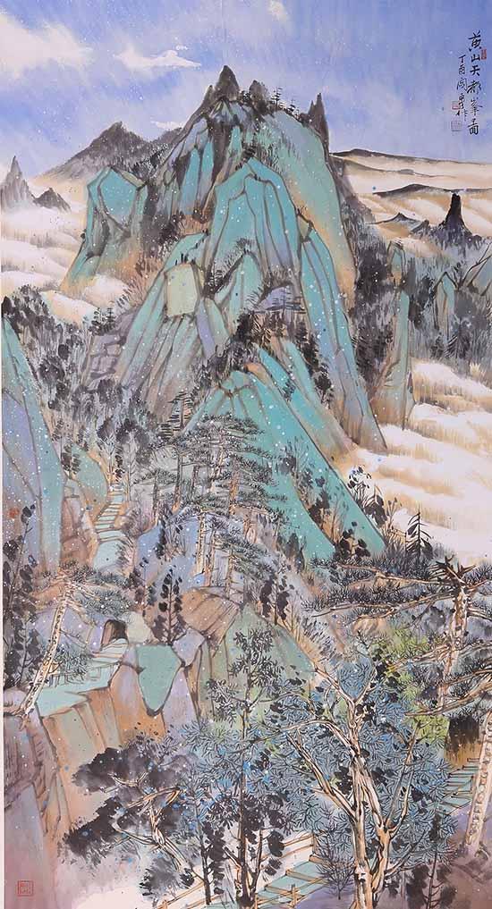 闫勇中国山水画作品欣赏图片