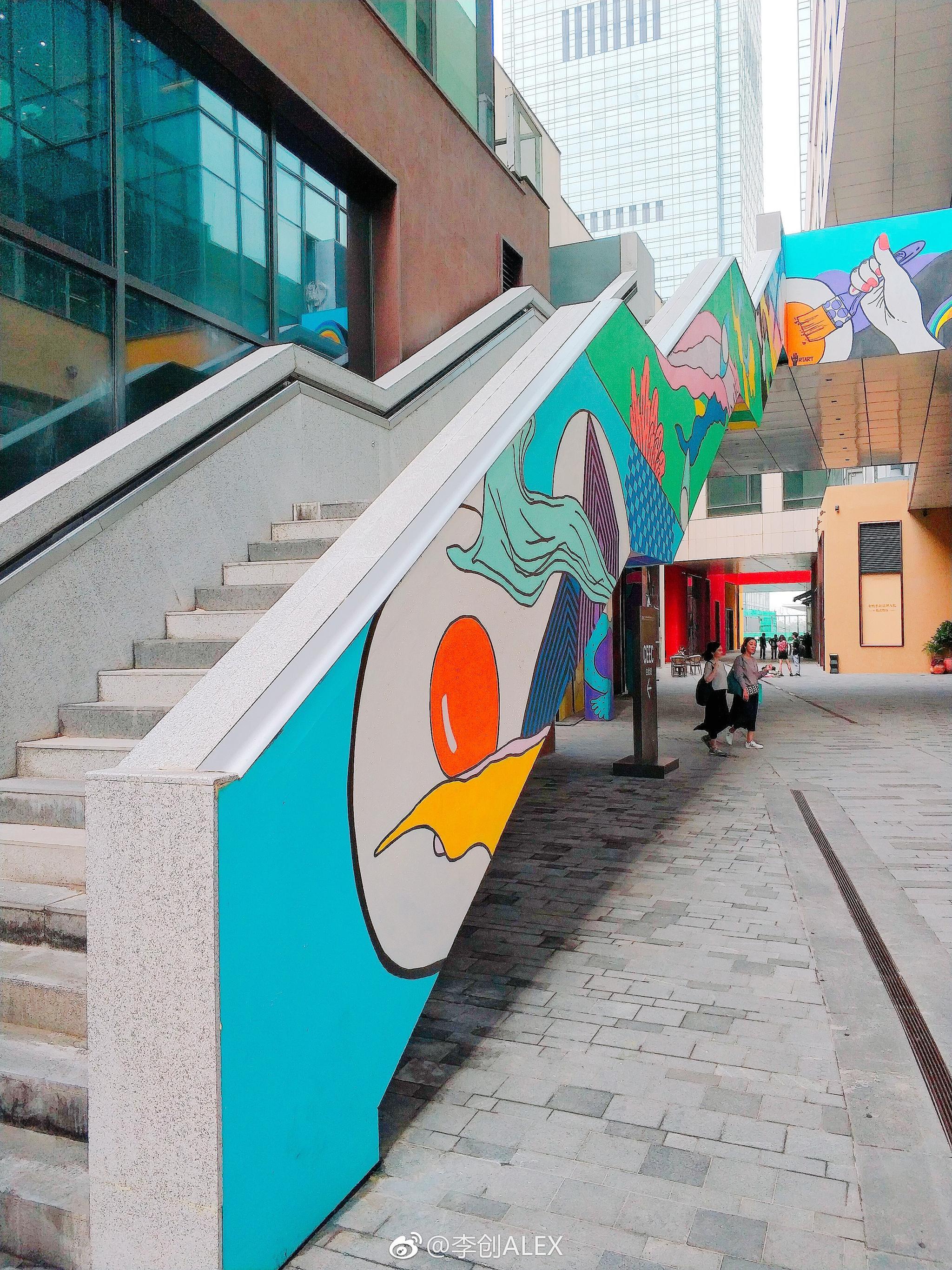 深业上城 \/ 深圳最美的构成空间,又一个网红打卡