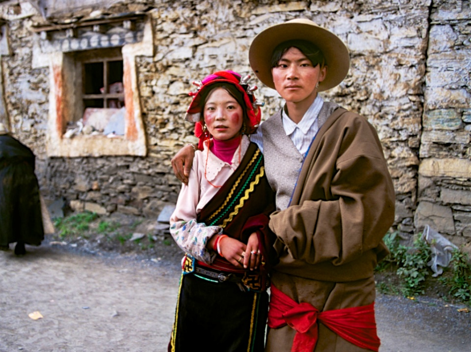 老照片:史蒂夫·麦凯瑞西藏行,千禧年的拉萨图片