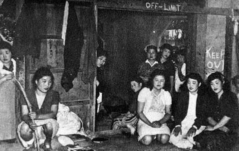 老照片: 日军从未泄露过的慰安妇照片, 12岁小女孩都不放过