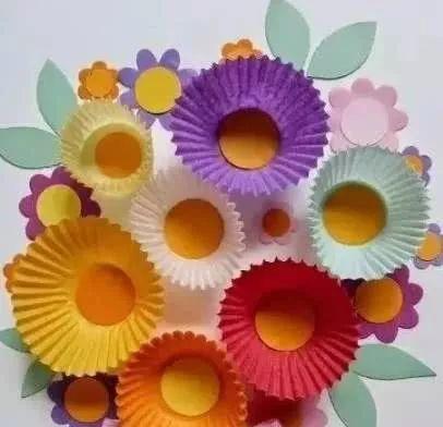 让孩子爱上春天的手工制作教程,太美了!收藏起来教孩子吧!