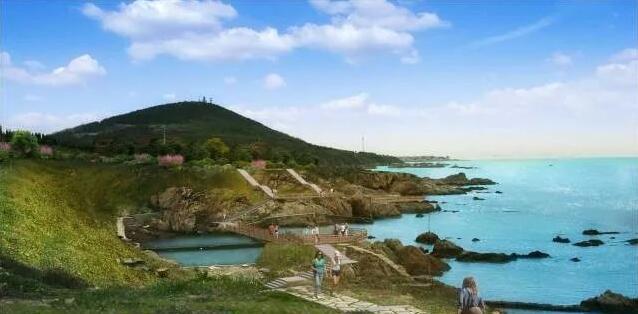 青岛西海岸,70公里最美滨海栈道,明年3月份建成!