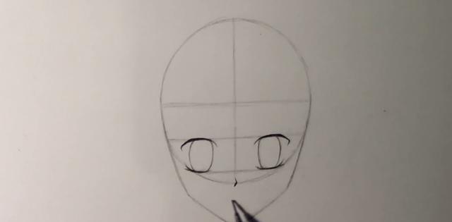 手把手教你绘画动漫人物脸部(一):如何画好正面女生的