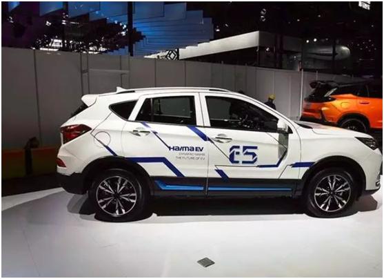 自主汽车的新势力 海马电动车