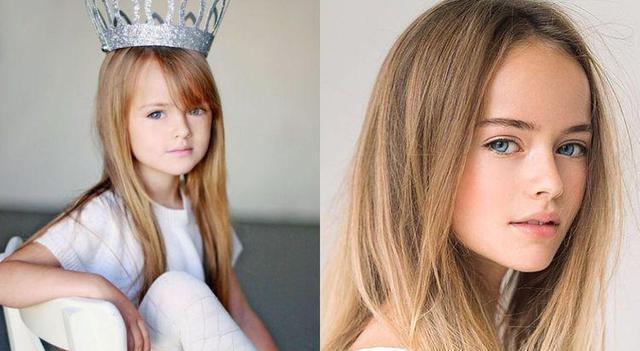 被誉为世界第一美少女的俄罗斯童模长大了,如今她颜值依然爆表!