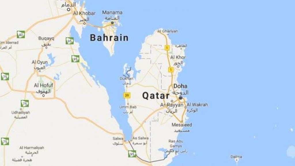 沙特计划沿卡塔尔边境挖通运河设军事区 卡塔尔半岛变