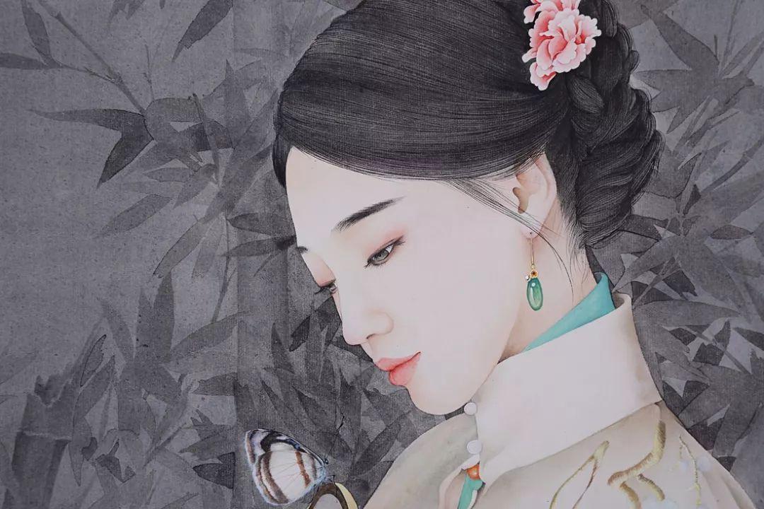 东方美|丁己 京剧国粹人物及现代美女工笔画