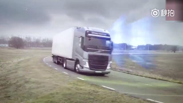 沃尔沃货车的碰撞预警系统有多厉害,丝毫不输奔驰货车!