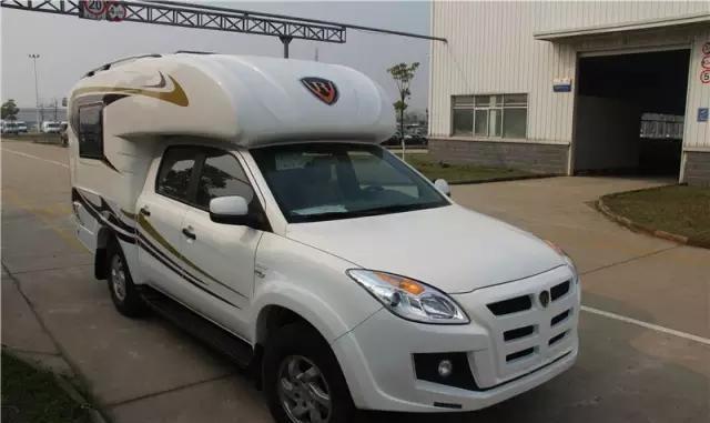 这款江铃域虎越野房车价格只要19.98万