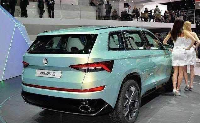 斯柯达全新六座SUV, 搭载1.4T混动配四驱, 比汉兰达强, 卖16万