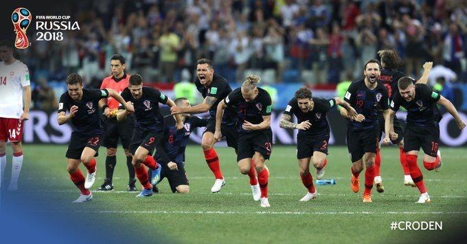 然而,比赛开场仅仅57秒,丹麦就攻破了克罗地亚大门,克努德森大力图片