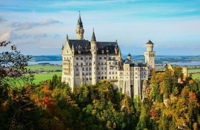 童话世界般的巴伐利亚,来德国,别忘去这兑现童话世界梦幻感