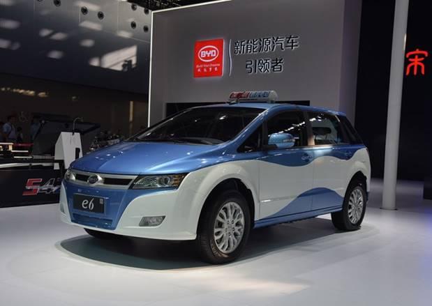 相比于市面上的纯电动车而言,比亚迪e6的优势在哪?