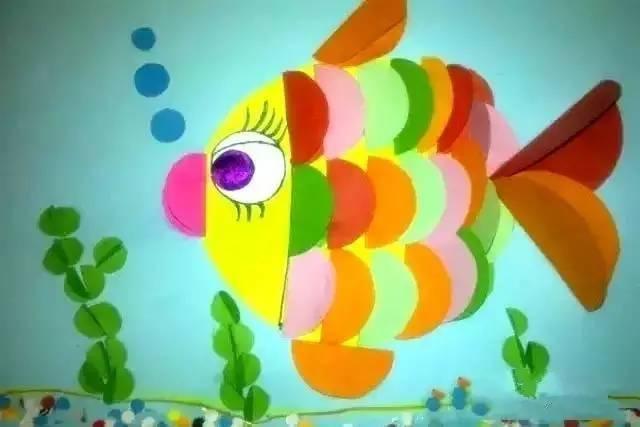 幼儿园卡纸创意手工制作,让孩子创意大爆发!|海底世界
