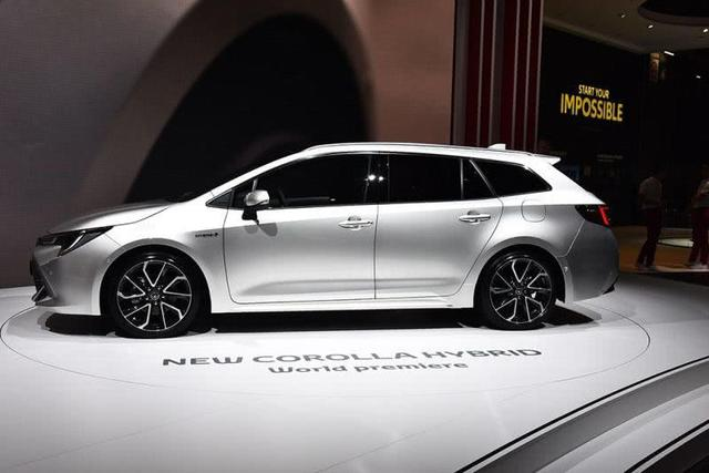 卡罗拉旅行版要火了,新车比大众蔚领漂亮,网友:不加价就订车!