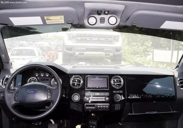 彪悍的大块头,福特皮卡F650,真正的高高在上!