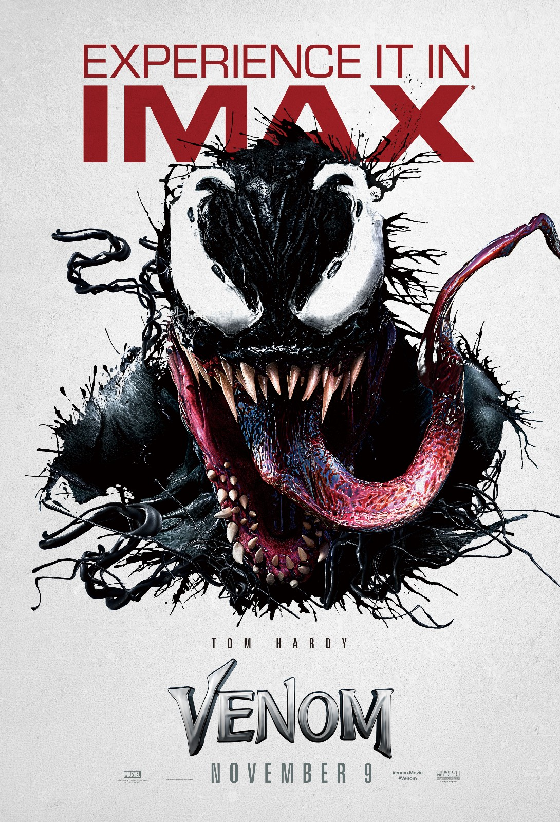 漫威另类英雄《毒液》惊艳首秀, IMAX3D版颠覆感官圈粉