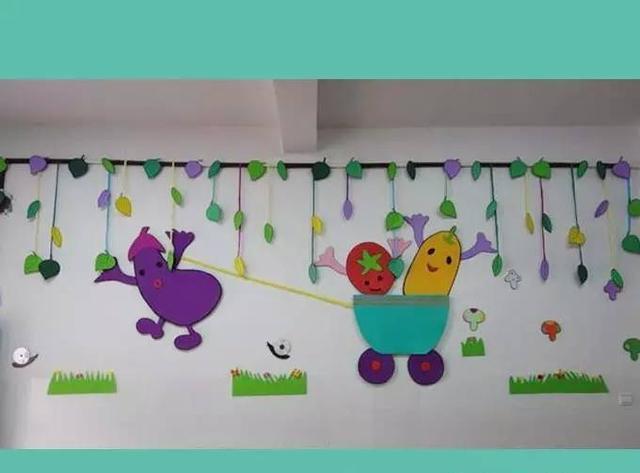 幼儿园蔬菜主题墙图片_幼儿园蔬菜手工制作图片图片