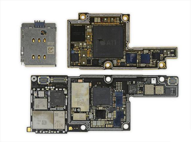 华为p20,小米mix2s拆机对比,做工和iphonex仍有差距