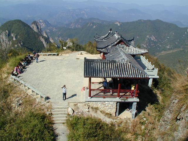 浦江县郑义门古建筑 仙华山风景