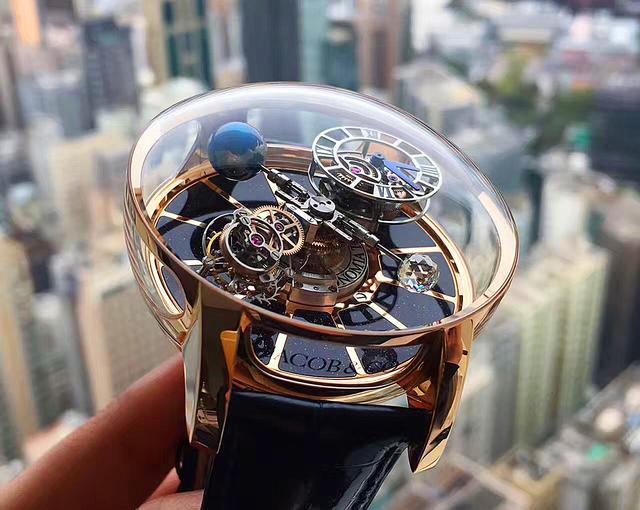把宇宙戴在手上,杰克豹天体陀飞轮腕表颠覆你对于手表