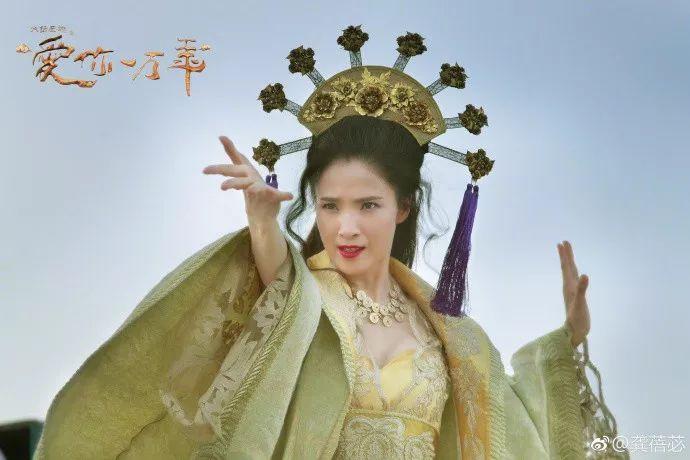 """出道就有""""小巩俐""""之称,23岁享誉国际,如今40岁仍是冻龄女神"""