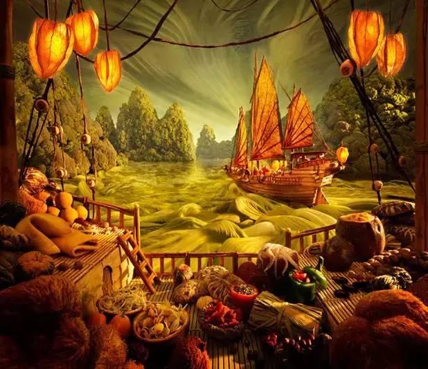 美图|当美食变成了世界名画,你还舍得吃吗?