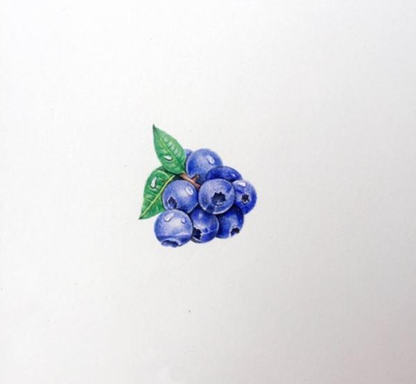 超写实彩铅画入门教程:彩铅手绘旺仔qq糖