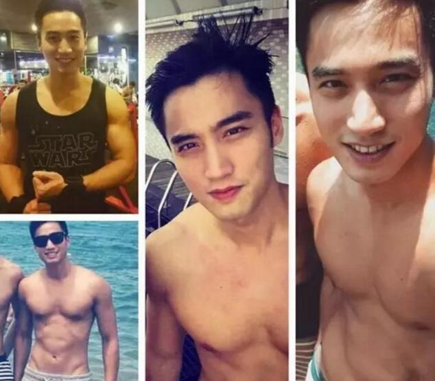 该男子轮廓性感帅气,神似[王阳明&张孝全],拥有健硕和性感的身材舞演唱会五官图片