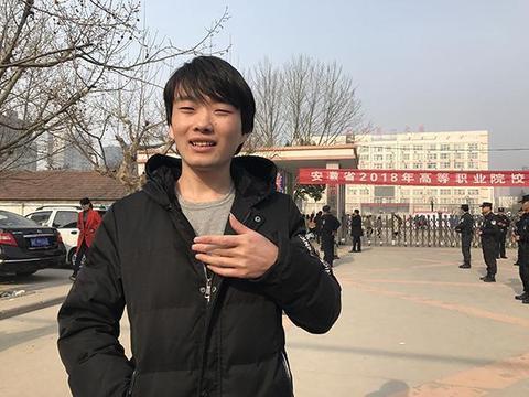 """十年后,安徽""""零分考生""""第二次参加高考。他为何不放弃高考?"""