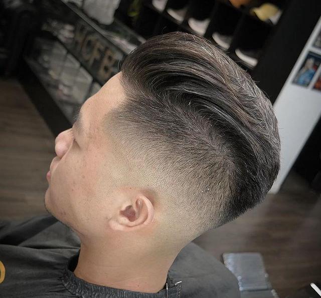 侧分背头,渐变,油头,最受男生欢迎的发型图片