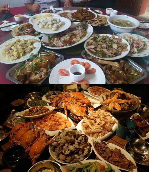 韩国人请客所吃得大餐与韩剧里有些差别, 一桌子菜却不知道吃啥